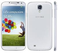 Wholesale Android Galaxy S4 - Original Unlocked Samsung Galaxy S4 SIIII I9500 i9505 Cell phones Quad-core 3G&4G 13MP Camera 5.0'' 2GB 16GB Refurbished NFC WIFI GPS