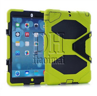Wholesale Ipad Cases Characters - Heavy Duty Dust Shock Proof With Stand Hang Cover Case For Samsung T350 T330 8 T230 P3200 P5200