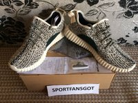 Wholesale Real Dive - Newest Version 350 Boost Turtle Dove with Real Boost+ Good Shape 350 Running Shoes with receipt +box+ keychains +Socks size 36-46