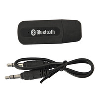 Wholesale Usb Output Bluetooth Music - Portable USB Bluetooth Audio Music Streaming Receiver Adapter with 3.5 mm Stereo Output for Home Stereo Portable Speakers Headphones