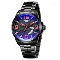 Wholesale Eyki Watches Overfly - Overfly Watch Sport Watch Cool Fashion Stainless Steel Strap Analog Date Men Quartz Watch Casual Watch Waterproof