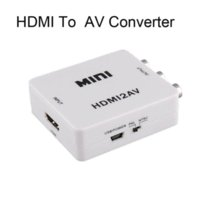 HDMI pal vhs - New P HDMI to AV Adapter HDMI to CVBS Converter HDMI RCA Signal Adapter NTSC PAL Adapter for TV PS3 VHS VCR