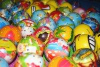 Wholesale Sponge Rubber Balls - 2015 Hot Sale 6.5cm Children Toy Ball Bouncy Foam Ball Sponge Rubber Ball Baby Toys Soft Ball Multicolor
