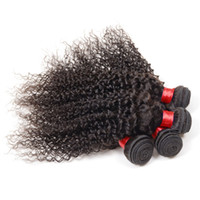 Wholesale Human Hair Tissage Curly - 7a Peruvian kinky curly virgin hair 4pcs 100% unprocessed Virgin remy human hair cheap curly hair bundles tissage bresilienne kinky curly