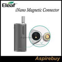 Wholesale Ego Connect - Eleaf Magnetic Connector for iNano & iStick Basic Connector Connecting iStick Basic Body with 510 Thread & eGo Connector