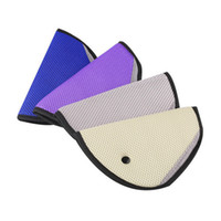Wholesale Safe Car Belt - 8 Color Free shipping car Safe Fit Seat Belt Adjuster car safety belt adjust device baby child protector positioner Breathable