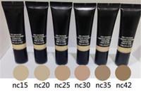 Wholesale oil free foundations for sale - Group buy 2017 Pro Longwear Nourishing Waterproof Foundation Fond DE Teint new makeup face powder with Free Ship