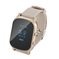 Wholesale Personal Gps Children Watch - T58 Smart Watch Kids Child Elder Adult GPS Tracker Smartwatch Personal Locator GSM Tracking Device LBS WiFi Call Free Web APP Realtime