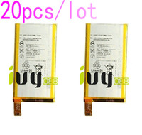 Wholesale Battery For Xperia Mini - 20pcs lot 2600mAh LIS1561ERPC Replacement Li-Polymer Battery For Sony Xperia Z3 Compact Z3c mini D5803 D5833 M55W SO-02G Batteries