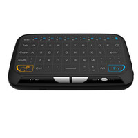 Wholesale g mouse for sale - Group buy 2017 Factory H18 Mini Wireless Keyboard G Portable Keyboard With Full Touchpad Air Mouse for Windows Android Smart TV PAD