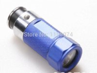 Wholesale Torch Cigarette Rechargeable Led Flashlight - Mini Led Car Cigarette Lighter Flashlight 12v Output Torch Rechargeable 30 Lumen For Camping Outdoor Lighting