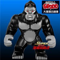 Decool 0230 Building Blocks Super Heroes Avengers Ultron Gorilla Grodo figures