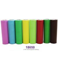 ingrosso blu mods box-Sigarette elettroniche Batteria VTC345 HE4 HE2 Green Blue 25r Mnke 26650 Batteria per Ecig Vape Box Mod Fedex Nave libera