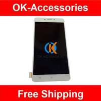 Wholesale Vivo Digitizer - White Color High Quality For Vivo X6 Plus LCD Display+Touch Screen Digitizer Assembly 1PC  Lot
