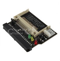 Wholesale Cf Card Ide Adapter - 10pcs Adapter Converter Compact Flash CF to 3.5 Female 40 Pin IDE Bootable Card New Free   Drop Shipping
