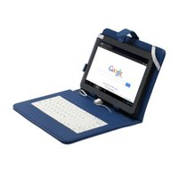 "Wholesale Blue Android Tablet Pc - FreeShip Boda 10"" Android 4.2 Tablet A20 Dual Core 8GB Dual Camera w  Blue Keyboard Gift usb flash drive 10tablet pc"