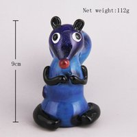 squirrel types - Cute Squirrel Style Glass Bong Oil Burner Handhold Glass Pipes For Smoking Tobacco Factory Derect Sale