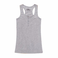 Wholesale Cheap Womens T Shirts - Wholesale-Cheap New Womens Tank Tops Casual Vest Sleeveless T-shirt Tank Top Vest Tops Multicolor
