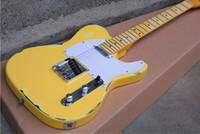 Wholesale relic body - Custom Shop Masterbuilt John Cruz '52 Ultimate Heavy Relic Butterscotch Blonde Telecaster Yellow Electric Guitar Free shipping