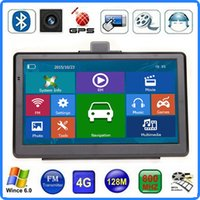 HD 7 Zoll Auto GPS Navigation Touch Screen LKW Nav Bluetooth CPU 800MHZ MP4 FM Transmitter 4GB IGO Primo 3D Karten