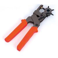 ingrosso guarda la punta del foro-Orologio girevole in tela di tela / Cintura perforatrice Pinza per perforazione Pinza 2m, 2.5mm, 3mm, 3.5mm, 4mm, 4.5mm Multifunzione heavy duty punch