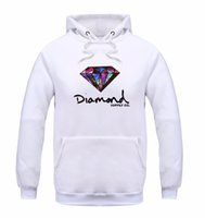 Wholesale diamond supply hoodies - Fashion Diamond supply co men hoodie women street fleece warm sweatshirt winter autumn fashion hip hop primitive pullover