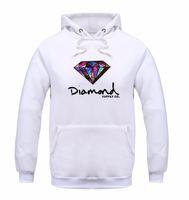 elmas hoodie toptan satış-Moda Elmas tedarik co erkekler hoodie kadınlar sokak polar sıcak kazak kış sonbahar moda hip hop ilkel kazak