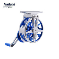Wholesale Bait Reel Left Hand - 55mm(2.2in) 3BB 3:1 full metal ultra-light fly fishing reel CNC machined aluminum fly fish reel fly wheel Left Right hand