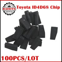 Wholesale Transponder Lock - Free Shipping via dhl!!!100pcs lot original ID 4D68 4D:68 4D 68 Transponder Chip (Lock) D2 XX XX XX for Toyota
