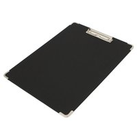 Wholesale Black Board Paint - Wholesale-Brand New Black Waterproof Drawing Board Sketchpad Palette Display Painting Clip File Folder Clipboard Art Supply 400*300mm