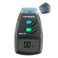 Wholesale Wood Moisture Tester Pin - Wholesale-2016 hot MD-2G LCD Digital Moisture Wood Meter digital tester pin tester moisture meter