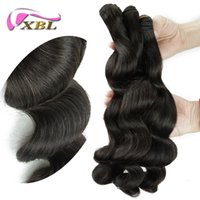Wholesale Hot New Extension - New Arrival Hot Selling 3 Pieces Free Shipping Natural Color Malaysian Loose Wave Human Weave Human Hair Extension