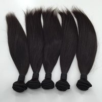 Wholesale hair color online for sale - Group buy double drawn High grade Silky Straight Hair Wefts Can be Dyed Vietnamese Chinese Virgin Human Hair Online