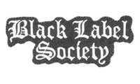 Wholesale Embroidered Labels Custom - BLACK LABEL SOCIETY Music Band LOGO Embroidered NEW IRON ON and SEW ON Patch Heavy Metal Custom design patch available