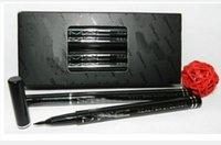 Wholesale Real Pen Eyeliner - Hot Waterproof Black COLOR SOLID EYE LINER REAL PEN EYELINER(12pcs)