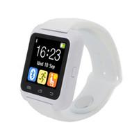 Wholesale Android Note3 - Bluetooth u80 Smart Uhr android MTK smartwatchs für Samsung S4 Note 2 Note3 HTC xiaomi für Android-Handy with box