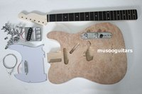 Wholesale Ash Guitars - PROJECT ELECTRIC GUITAR BUILDER KIT DIY WITH ALL PARTS FOR ASH BODY