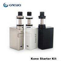 Wholesale E Cigarette Smart Tank - Authentic kanger kone starter kit electronic cigarettes with KBOX Smart Mod 3.5ml PANGU Tank PGOCC coils kangertech kone starter kit e cig