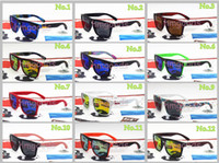 Wholesale Colorful Plastic Sunglasses - New Mirror Reflective Sport Skateboarding Unisex Punk Colorful Outdoor Charm Windproof Travel Goggle Glasses Sunglasses Quik Silver 731