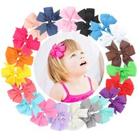 20Pcs Cute Sweet Lovely Bowknot Clip di capelli per bambini Neonate Toddlers and Infants