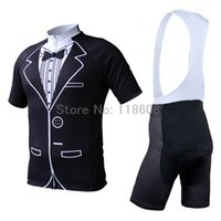Wholesale Tuxedos For Short Men - Tuxedo Men's Short Sleeve Cycling Jersey Bicycle Racing Cycles Jerseys Mountain Bike Ropa Ciclismo Cycling Clothing for Summer