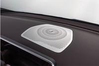 alto-falantes benz venda por atacado-Car Center tampa do alto-falante do console / tampa da proteção do alto-falante do painel Para Mercedes Benz 2015-2016 C-Class W205 / GLC