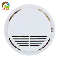 Wholesale HOT Smoke alarm Smoke fire Detector Photoelectric Wireless Battery operated Home Security smoke Fire Alarm Sensor High Sensitivity