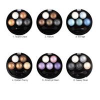 ombres à paupières nues achat en gros de-5 couleurs palette de fard à paupières maquillage UBUB Bright Stéréo Nude Palette Ombre à Paupières composent Glitter Eyeshadow Ensembles Vente Chaude