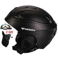 Wholesale Moon Helmets - Wholesale-MOON Ski Helmet Ultralight CE Certification Integrally-molded Breathable Skateboard Ski Snowboard Helmet