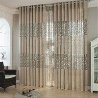 Curtain U0026Draperies Double Pleated Window OnnPnnQ Branches Leaves Jacquard  Curtain Screens For Living Room Bedroom Hollow Part 40
