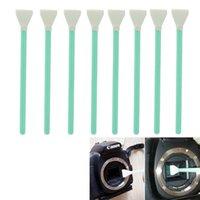 Wholesale Dslr Clean - 8PCS Wet + Dry CCD CMOS Swab Sensor Cleaning Cleaner For APS frame DSLR Camera