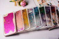 Wholesale Glitter Galaxy Ace - Floating Glitter Star Running Quicksand Liquid Dynamic Hard Case Cover For Samsung Galaxy S7 Edge J1 ACE J5 Grand Duos i9082 MOTO G3 Sony Z5