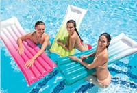 flotadores de agua inflable envío gratis al por mayor-Deportes acuáticos Nueva llegada Gradual Float Float Float Float Inflatable Adult Swim Sleeve Adult free shipping.