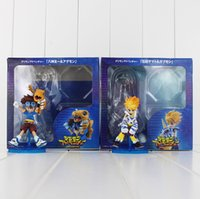 Wholesale wholesale digimon toys for sale - Digimon Adventures Yagami Taichi Ishida Yamato PVC Action Figure Collectable Model Toy for kids gift EMS